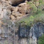 escalera cueva de la ramera