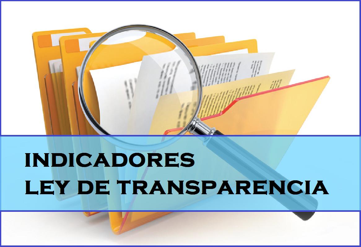 indicadores ley transparencia